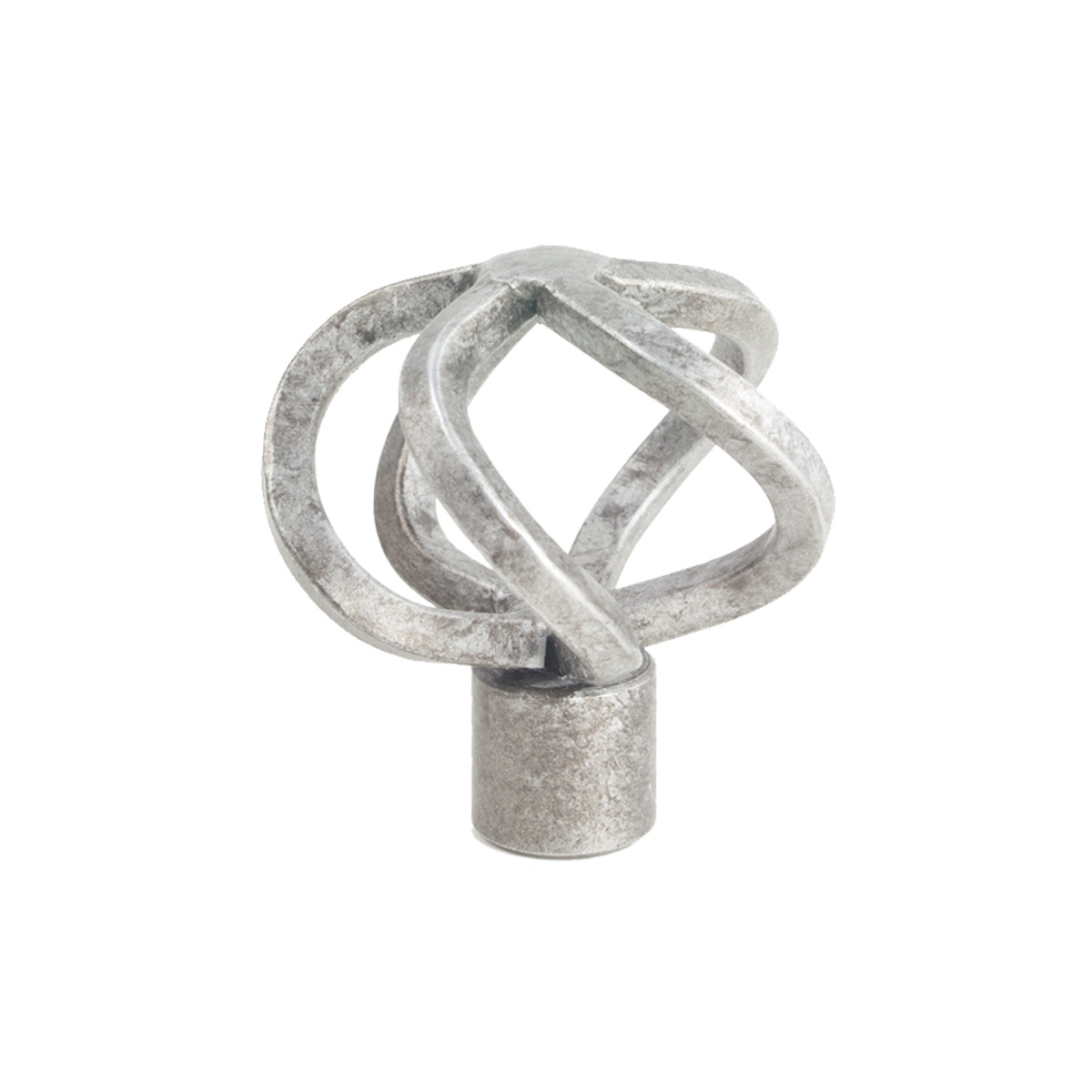 Basket Finial 4 Silver