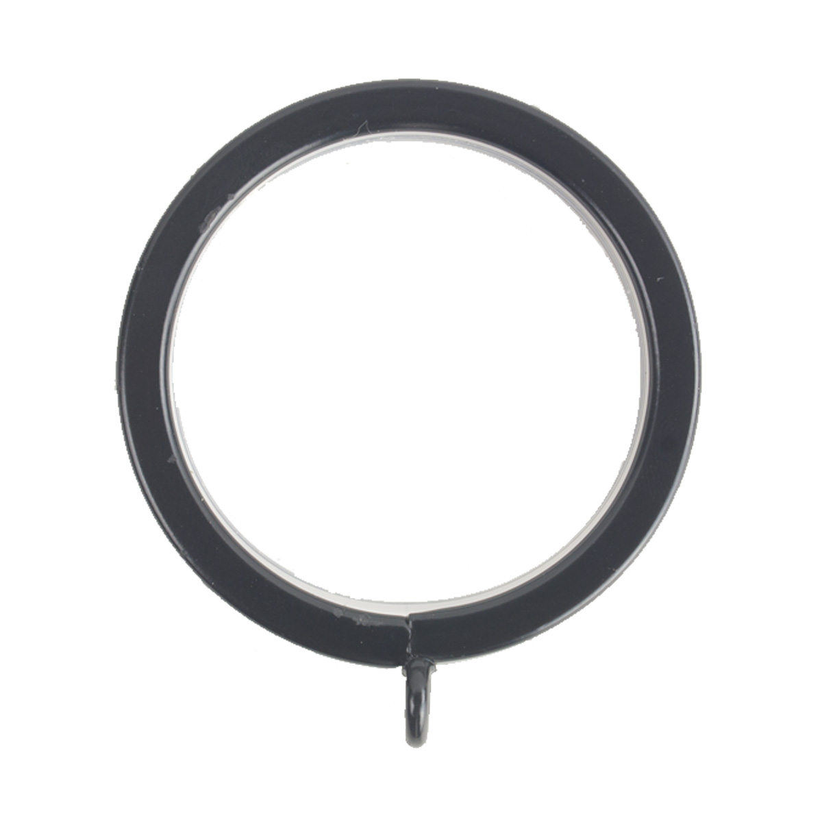 Flat Lined Rings 1 Black (10 Per Pack)