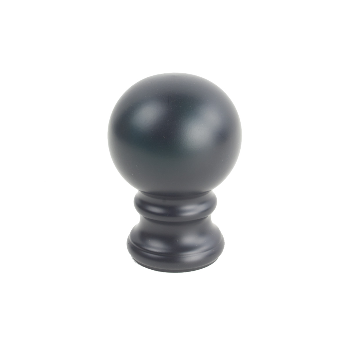 Iron Ball Finial 1 Black