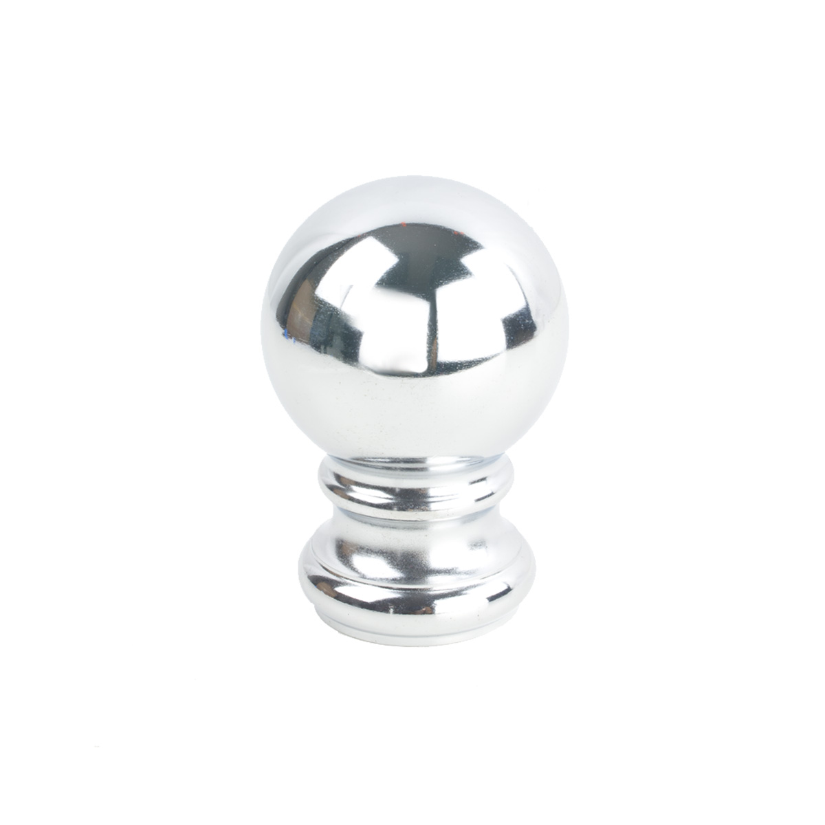 Iron Ball Finial 4 Chrome