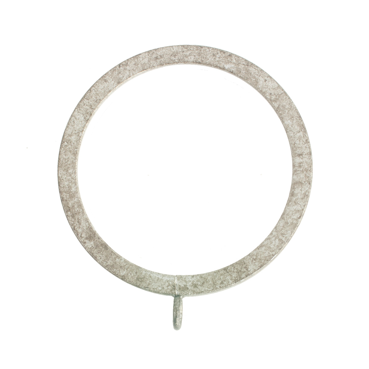 Flat Lined Rings 4 Silver (10 Per Pack)
