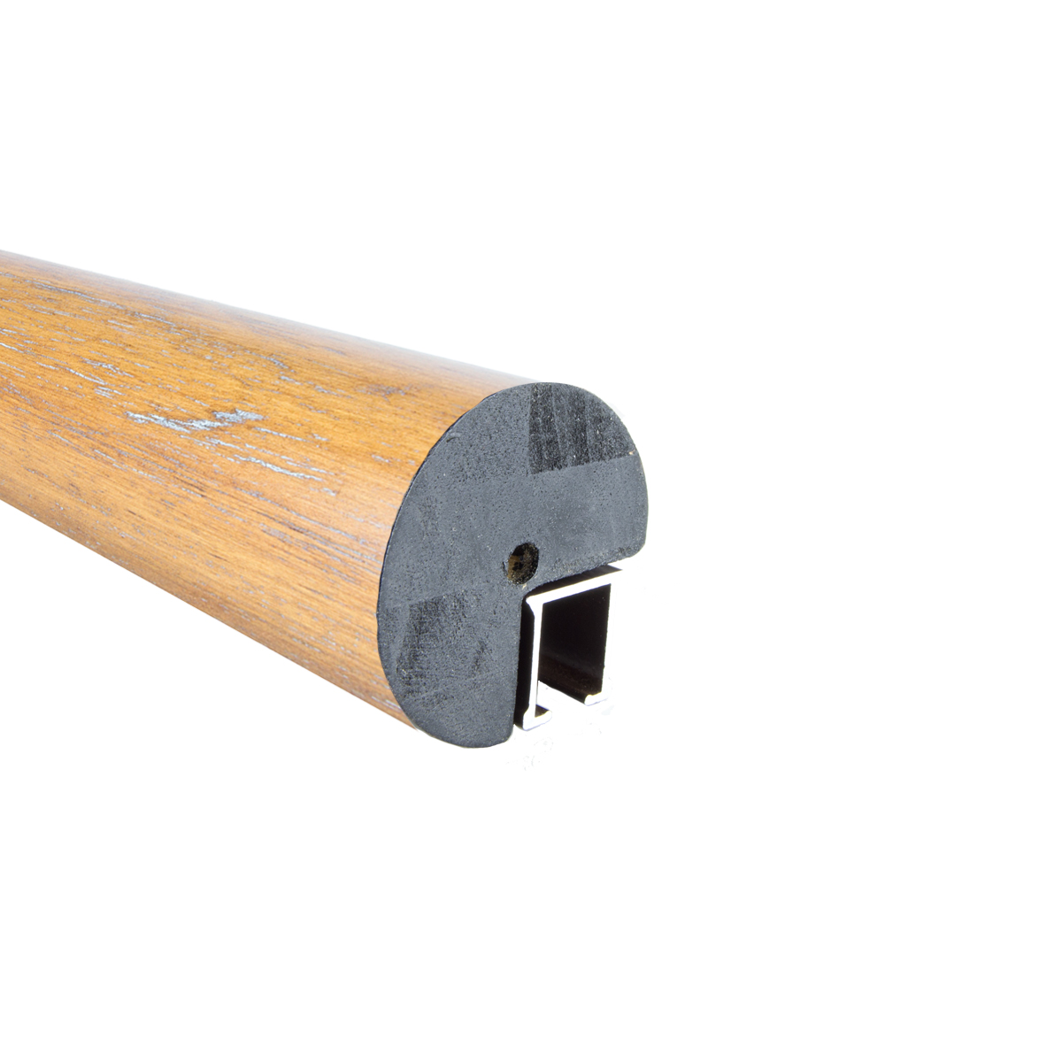 Traverse Rod Sgl Track-4 Ft. 4 Pickled Oak